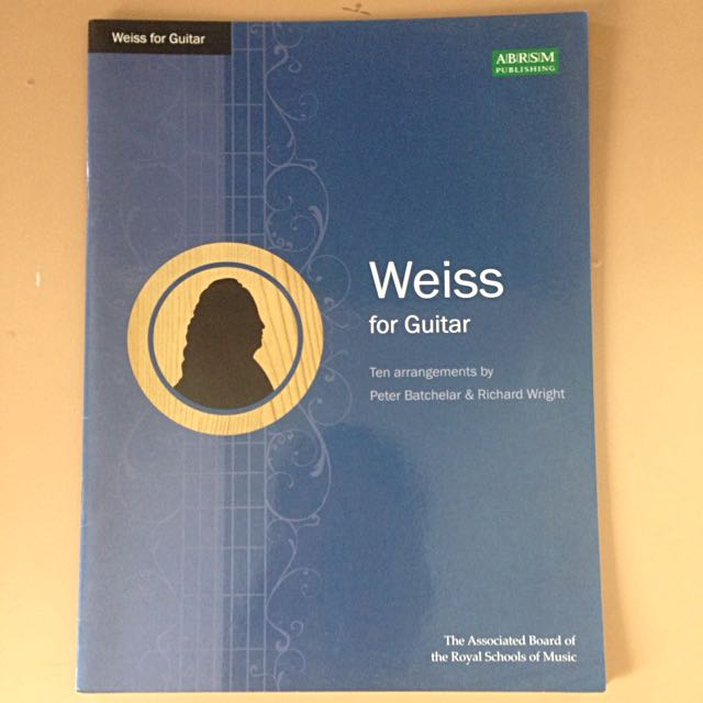 weiss for guitar abrsm books stationery fiction on carousell