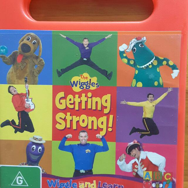 Wiggles DVD Getting Strong