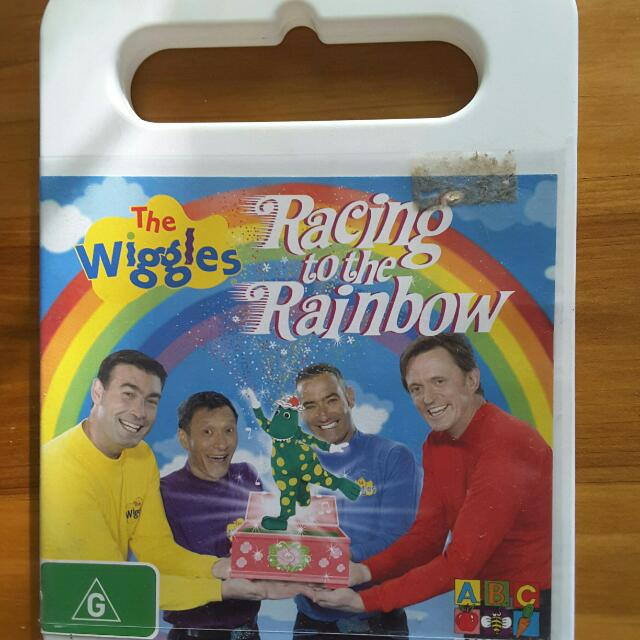 Wiggles Dvd. Racing To The Rainbow