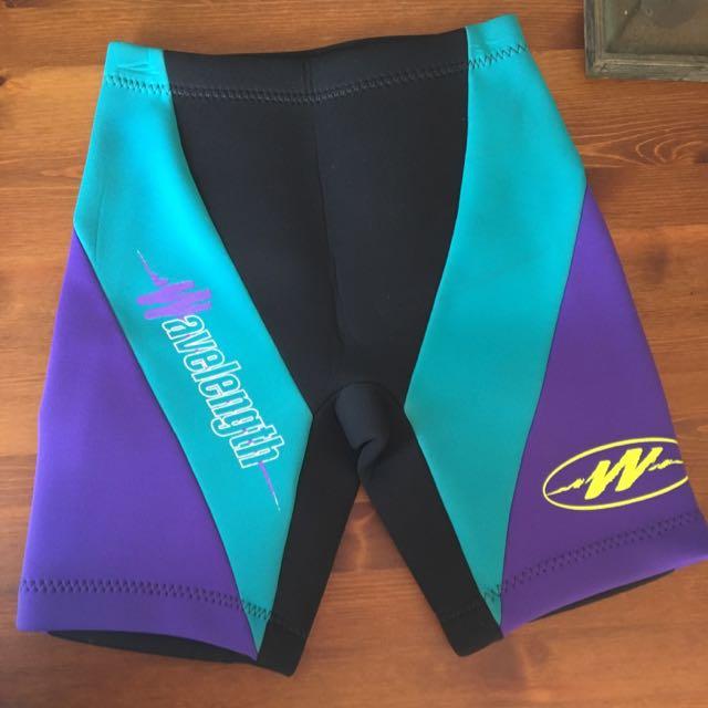 Women's Wavelength Wetsuit Shorts Medium Fits From 8 , 10 , 12 Sizes