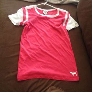 Small Pink / Victoria Secret Tee Shirt