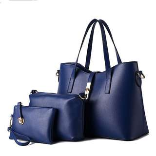 3 in 1 Bag Leather