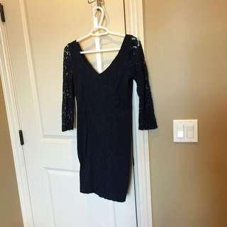Abercrombie Dress Lace Sleeve