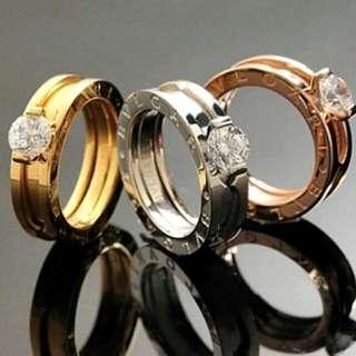 BVLGARI Ring - Premium Quality Size  : S, M, L