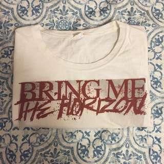 *reduced* bring me the horizon tee