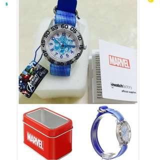 Promotion :Marvel Kids Analog Quartz Blue Watch