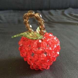靚穿珠仔蘋果 Pretty Beads Apple Jolie