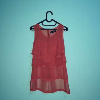 Bloop Endorse Reddish Orange Tops