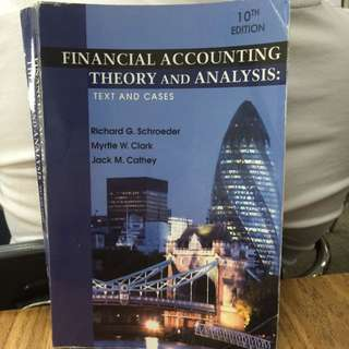 Financial Accounting Theory And Analysis 10th Edition Wiley