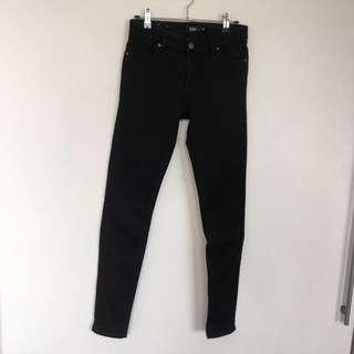 Sportsgirl Black Skinny Jeans Size 6