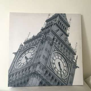 Canvas Print (Big Ben)