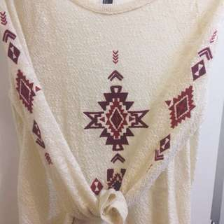 Forever 21 Knit Aztec Sweater