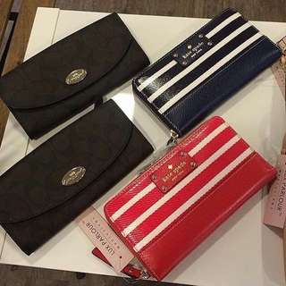 Authentic Kate Spade Neda Striped Wallet