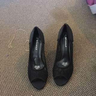 Black Size 9 Vizani High Heels