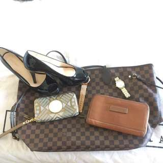 Longchamp Leather Wallet Kate Moss Edition