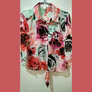 Forever 21 Floral Shirt