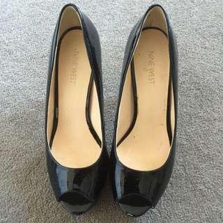Nine West Camya Black Patent Size 8