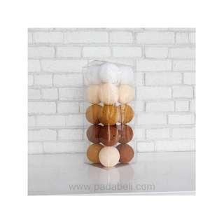 Cotton ball light Brown tone