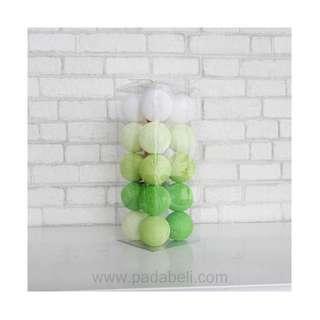 Cotton ball light Green tone