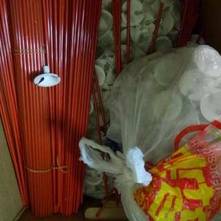 Stock Lot Balloons Sticks & Holder(300-400 Sets)