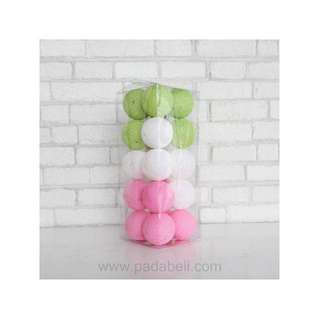 Cotton ball light Tiana candy