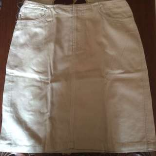 Rok Warna Cream