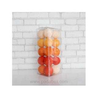 Cotton ball light Orange tone