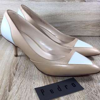 [Pedro] Colorblock Pointed Heels
