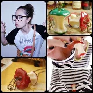 Necklace - Elephant/Cobra/Around the World/Leaf/Apple