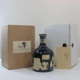 Hibiki 30 Years Whisky with Arita Yaki Bottle