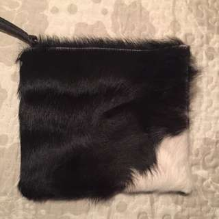 Toni May Genuine Leather (cow Hide) Pouch