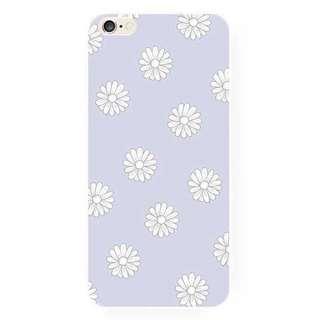 紫色小花iPhone手機殼(A)