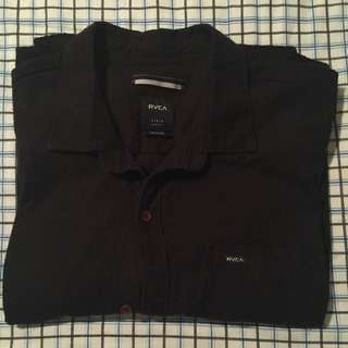 Never Worn RVCA Short Sleeve Button-up