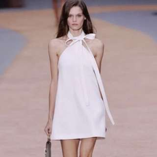 [BNIS] Chloe Inspired Neck Tie A-line Dress