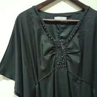 Semi Formal Elegant Black Blouse