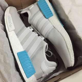 NMD R1 (cyan/ Off-white)