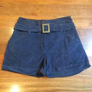 Sportsgirl Cord Shorts