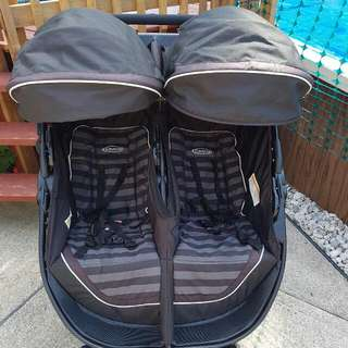 Greco Double stroller