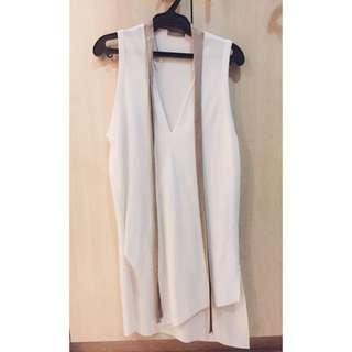 Zara Long Asymmetrical Top