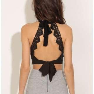Lucyinthesky Crochet Tieback Halter Top