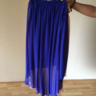 SUPRE Hi Low Maxi Skirt Size 10-12