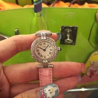 Diamond Cartier Watch Good Deal!