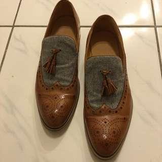 Allegrezza雕花牛津鞋