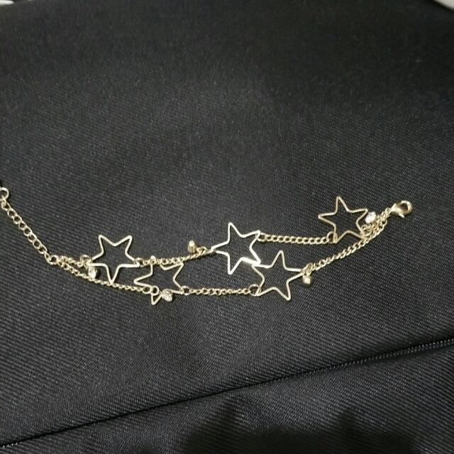 金色星星手鍊