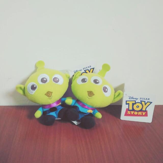 迪士尼 玩具總動員 三眼怪 娃娃 Toy Story