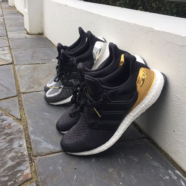 Adidas Ultra Boosts Olympic pack (Gold/Silver)