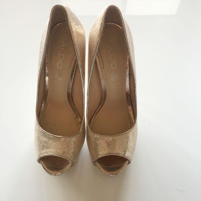Aldo Platform Heels- Size 37