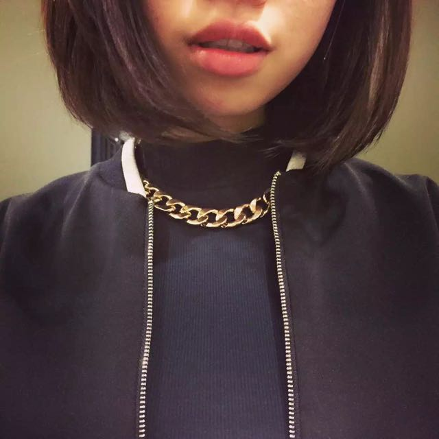 Bardot Gold Chain Necklace