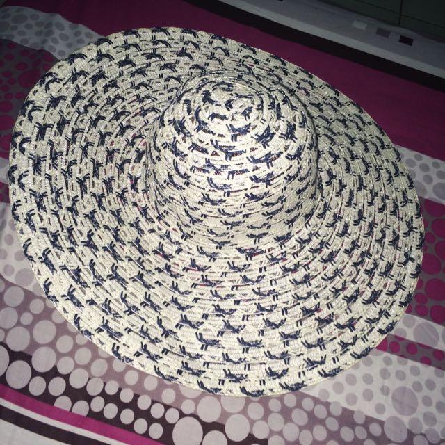 Blue Summer Hat