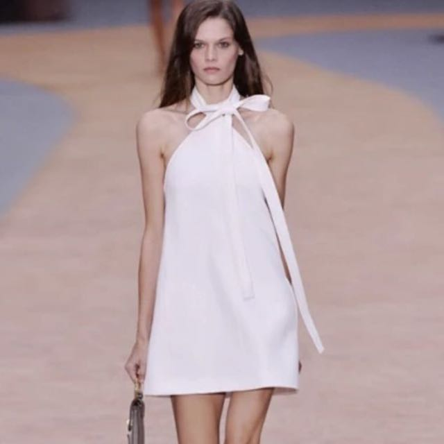 [BNIS] Chloe Inspired Neck Tie A-line Dress